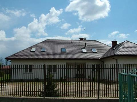 Dach stromy - dom jednorodzinny